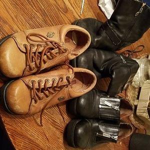 3 pair Harley Davidson's  Shoes
